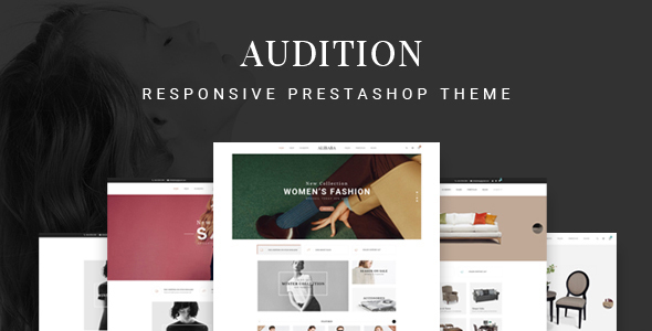 Audition - Multipurpose Responsive Prestashop Theme | 7+ Homepages            TFx