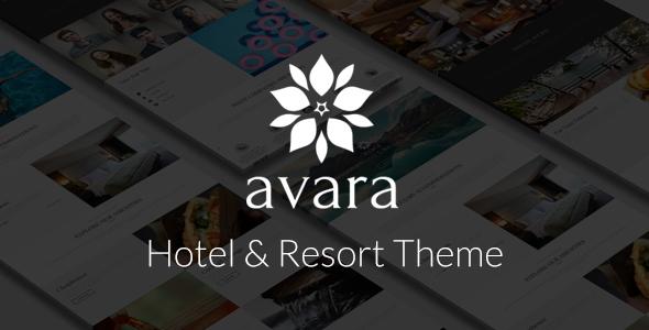 Avara - Hotel and Resort Theme            TFx