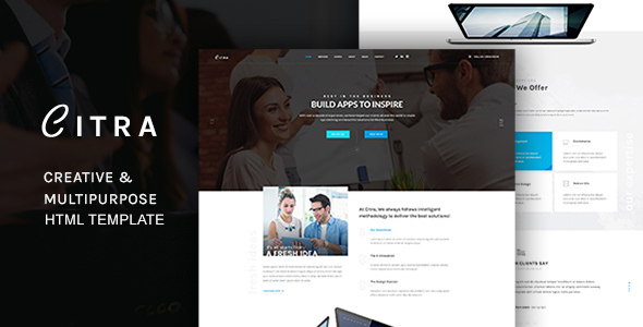 CITRA - HTML Responsive Multi-Purpose Template            TFx