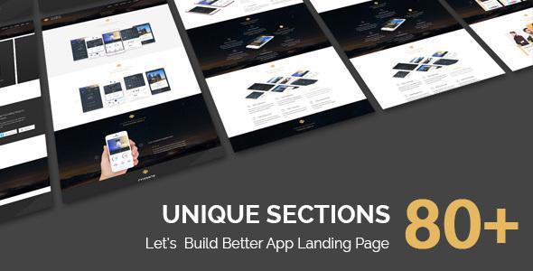 COSMOS - Multi Purpose App Landing Page With Builder            TFx