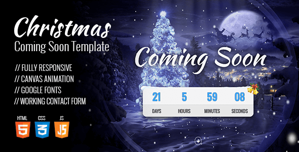 Christmas Coming Soon Template            TFx