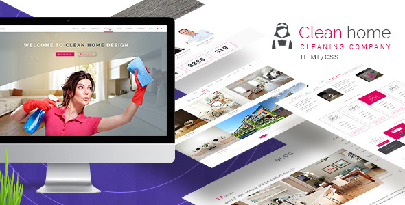 Clean Home HTML/CSS Template            TFx