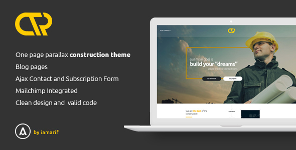 Consta - One Page Construction Html Template            TFx