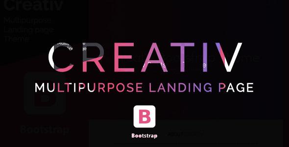 Creativ- Landing Page Multipurpose Theme            TFx