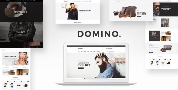 Domino - DRAG & DROP Fashion Responsive Shopify Theme            TFx