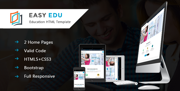 Easy-Edu Education HTML Template            TFx
