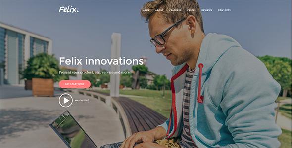 Felix. - App | Service Landing Page            TFx