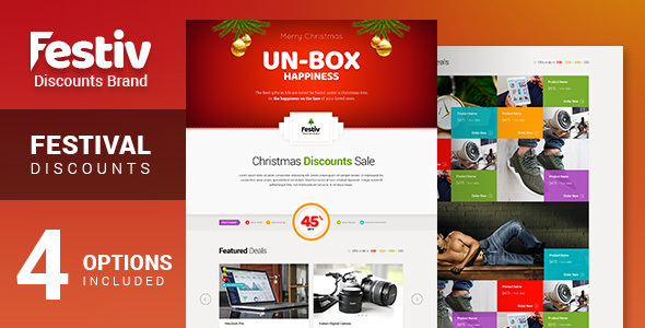 Festiv - Offer/Discount Landing Page            TFx