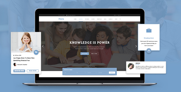 Fiora Education PSD Template            TFx