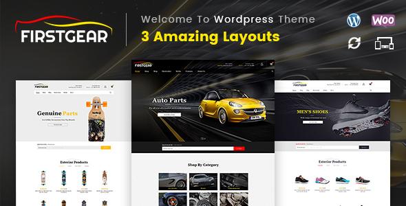 FirstGear - Multipurpose WooCommerce Theme            TFx