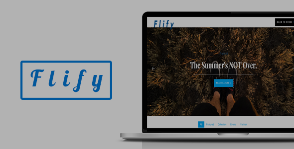 Flify Store | Responsive eCommerce Shop Template            TFx