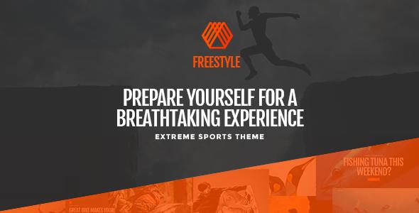 Freestyle - A WordPress Theme For Extreme Sports            TFx