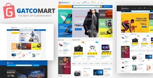 GatcoMart - Multipurpose Responsive Magento Theme            TFx