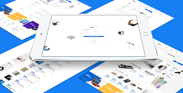 Gumbraa - Looking For Anything PSD Template            TFx