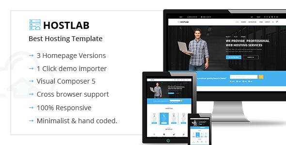HostLab - Hosting & Technology WordPress Theme            TFx