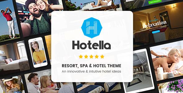 Hotella - Resort & Hotel Booking WordPress Theme            TFx