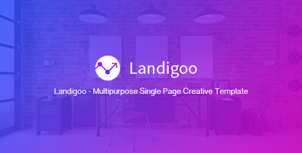 Landigoo - Multipurpose Single Page Creative WP Theme            TFx