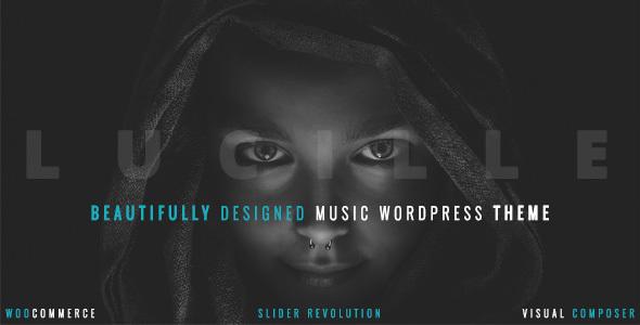 Lucille - Music WordPress Theme            TFx