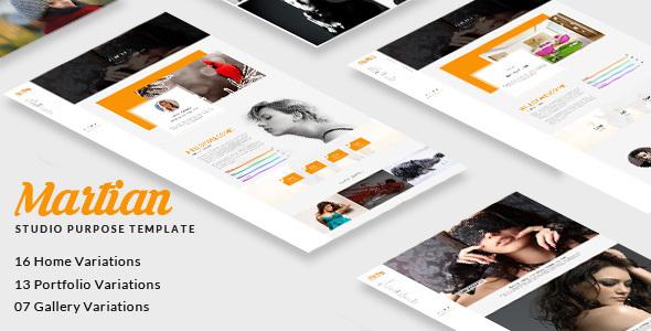 Martian - Studio Purpose HTML Template            TFx