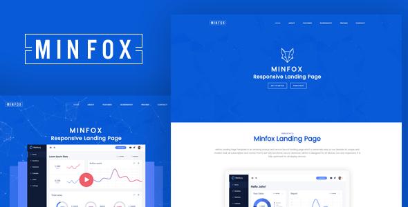 Minfox - High-Performance Landing Page WordPress Theme            TFx