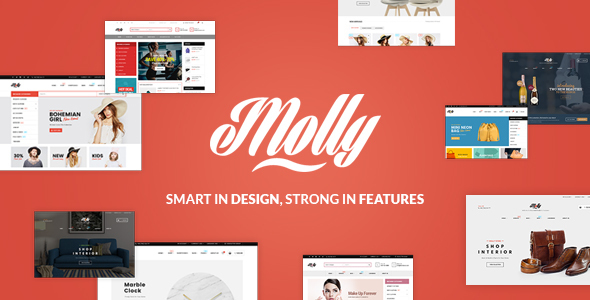 Molly - Multipurpose Responsive Shopify Themes            TFx