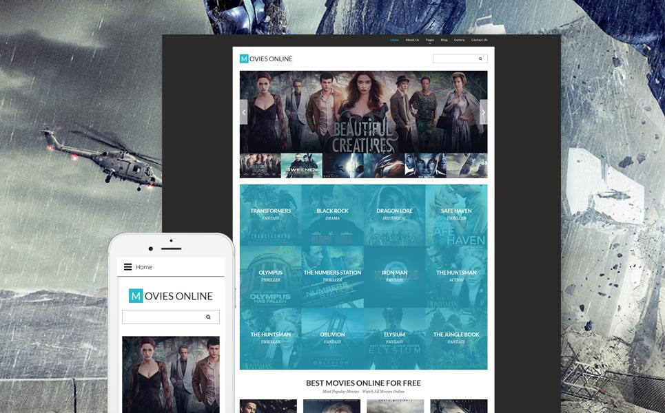 Movie Responsive Joomla Template TMT