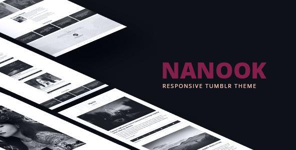 Nanook - Responsive Tumblr Portfolio Theme            TFx