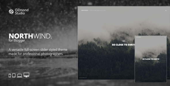 NorthWind: A Versatile Full-Screen Slider Theme for Photographers            TFx