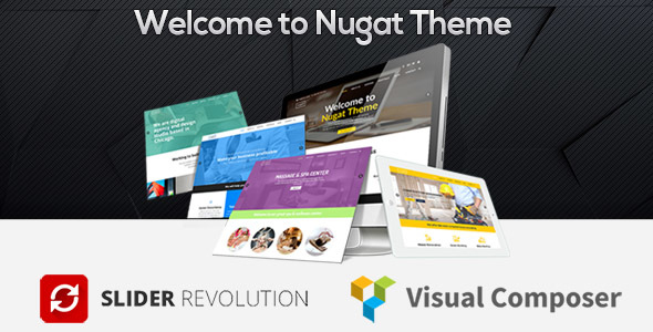 Nugat - Responsive Multi-Purpose Theme            TFx