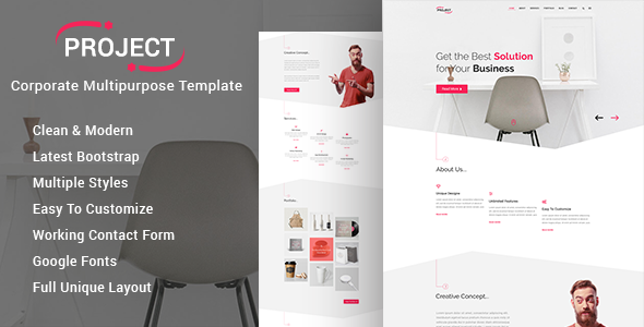 PROJECT - Corporate Business Template            TFx