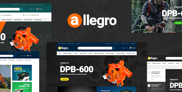 Pav Allegro - Advanced Opencart Theme            TFx