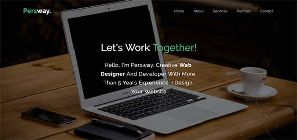 Persway - Responsive Personal Template            TFx