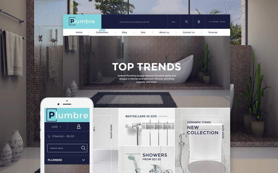 Plumbing Responsive Shopify Theme TMT