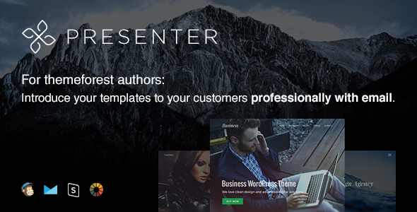 Presenter - Responsive Email Template + Online Editor            TFx