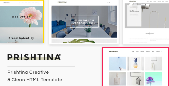 Prishtina   The Multi-Purpose HTML5 Template            TFx