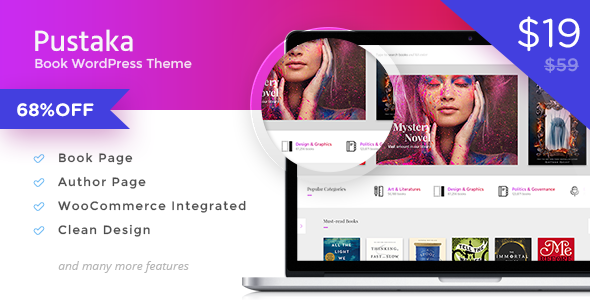 Pustaka - WooCommerce Theme For Book Store            TFx
