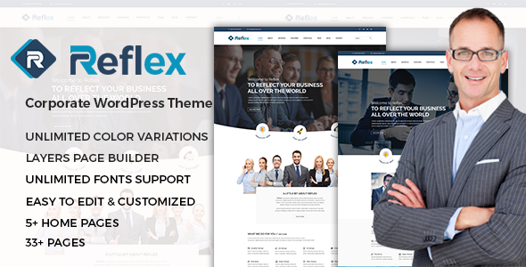 Reflex – Corporate Responsive WordPress Theme            TFx