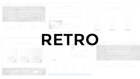 Retro - Multipurpose Business Theme            TFx