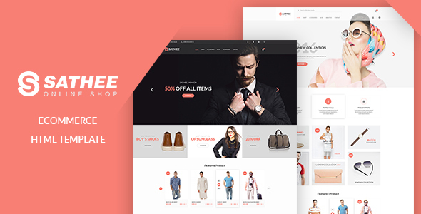 Sathee - eCommerce Fashion Template            TFx