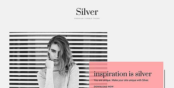 Silver Tumblr Theme            TFx