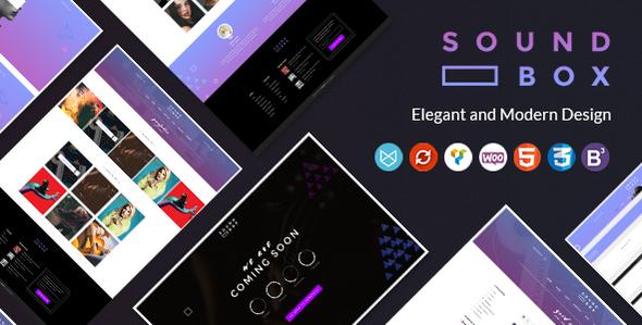 SoundBox | Easy Digital Downloads Responsive WordPress Theme            TFx