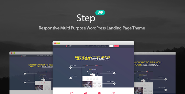 Step - Startup WordPress Landing Page Theme            TFx
