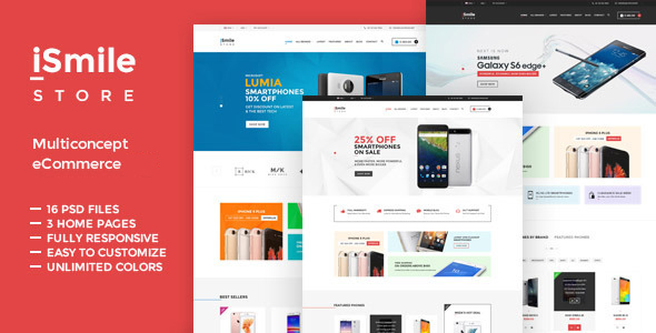 TV iSmile - Responsive Fashion Magento Theme            TFx