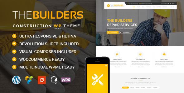 The Builders - Construction WordPress Theme            TFx