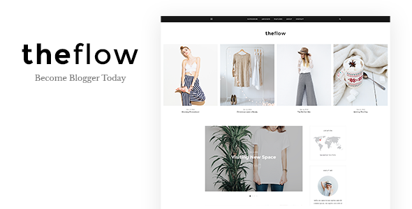 TheFlow - Blog PSD Template            TFx