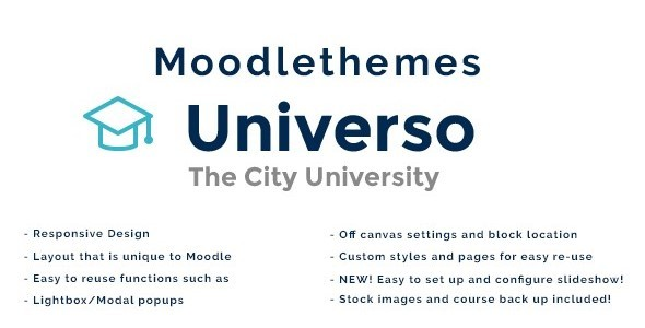 Universo - Responsive Moodle Theme            TFx