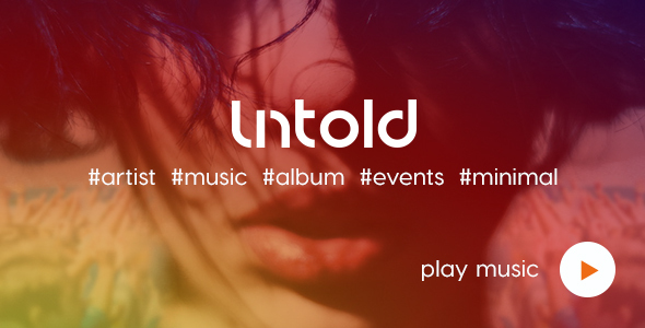 Untold | Artist | Music | Events HTML Template            TFx
