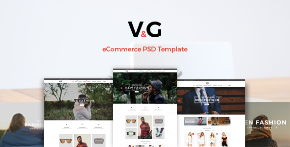 VG - eCommerce PSD Template            TFx