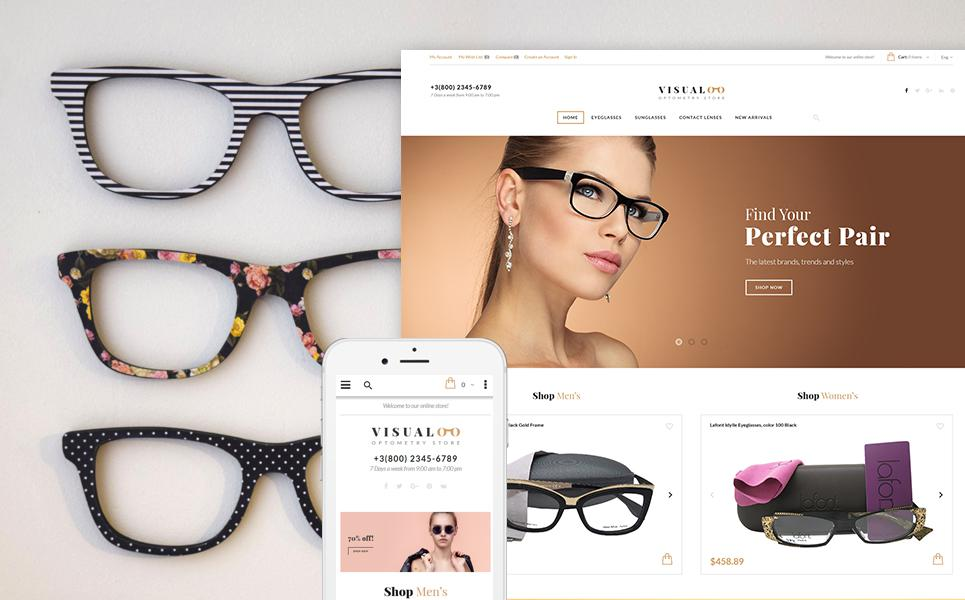 Visualoo - Optometry Store Magento Theme TMT