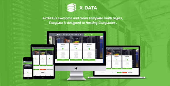 X-DATA - WMHCS & HTML Web Hosting Template            TFx
